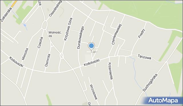 Bytom, Kofty Jonasza, mapa Bytomia