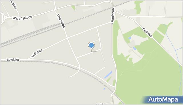 Grudziądz, Kociewska, mapa Grudziądza