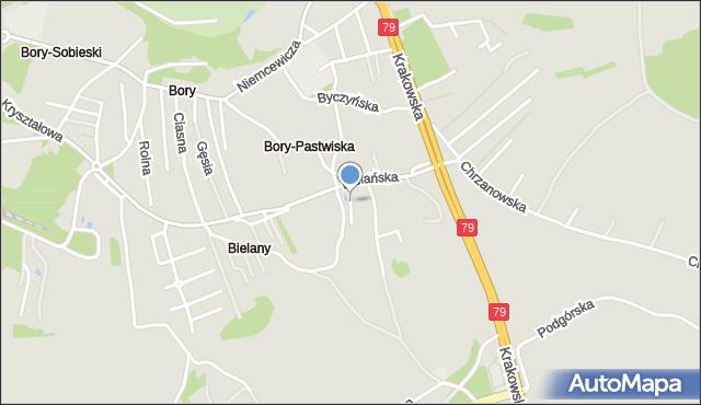 Jaworzno, Konarskiego Stanisława, mapa Jaworzno