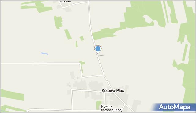 Kotowo-Plac, Kotowo-Plac, mapa Kotowo-Plac