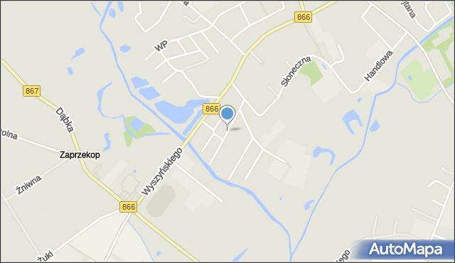 Lubaczów, Kochanowskiego Jana, mapa Lubaczów