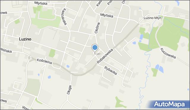 Luzino, Konopnickiej Marii, mapa Luzino