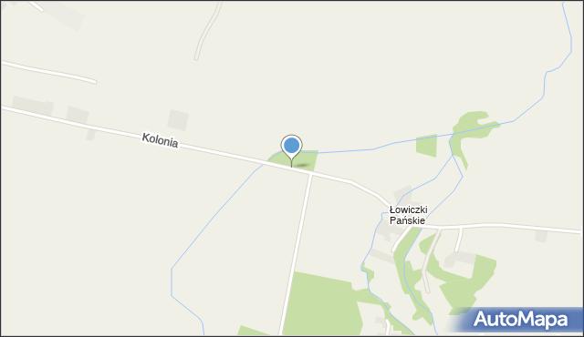 Przeciszów, Kolonia, mapa Przeciszów