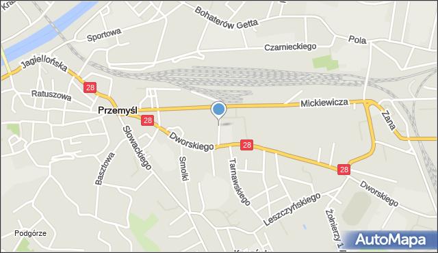 Przemyśl, Konarskiego Stanisława, mapa Przemyśla