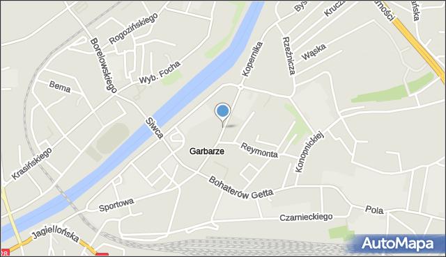 Przemyśl, Kopernika Mikołaja, mapa Przemyśla