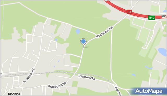 Ruda Śląska, Kochłowicka, mapa Rudy Śląskiej