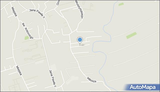 Rzeszów, Kownackiej Marii, mapa Rzeszów