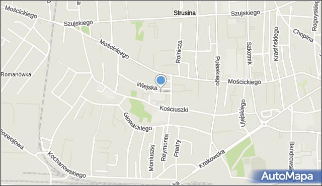 Tarnów, Korczaka Janusza, mapa Tarnów