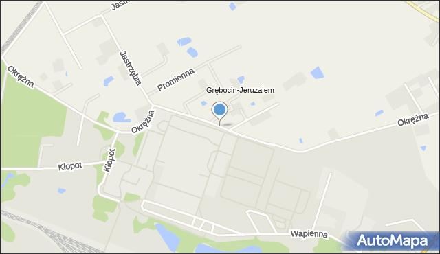 Toruń, Koniczynki, mapa Torunia