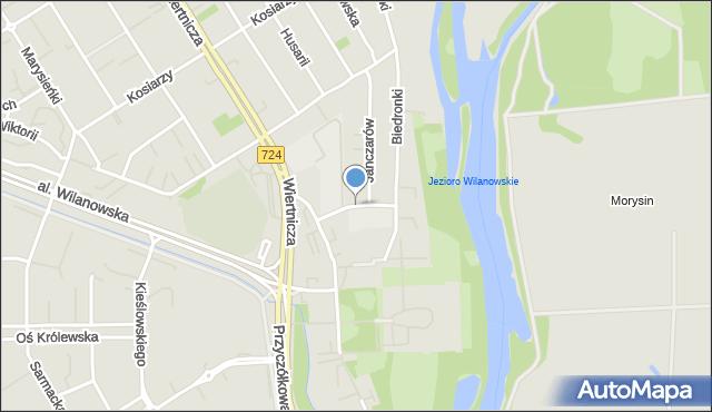 Warszawa, Kolegiacka, mapa Warszawy