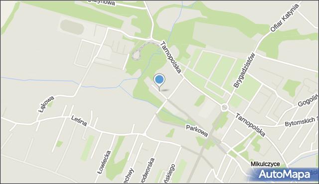 Zabrze, Kosynierów, mapa Zabrza