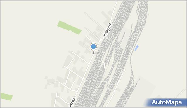 Żurawica powiat przemyski, Kolejowa, mapa Żurawica powiat przemyski