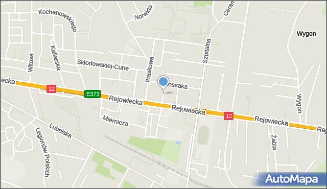 Chełm, Krasickiego Ignacego, bp., mapa Chełma