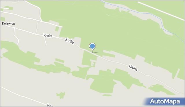 Jaworzno, Kruka Józefa, mapa Jaworzno