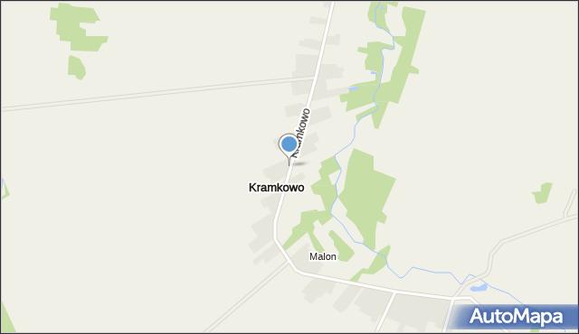 Kramkowo, Kramkowo, mapa Kramkowo