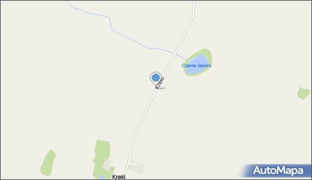 Kreki, Kreki, mapa Kreki