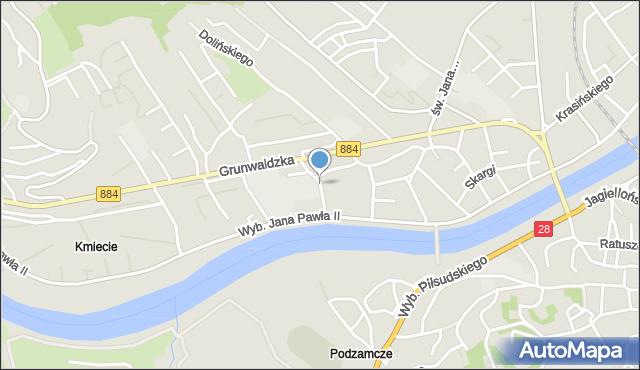 Przemyśl, Krasickiego Ignacego, bp., mapa Przemyśla