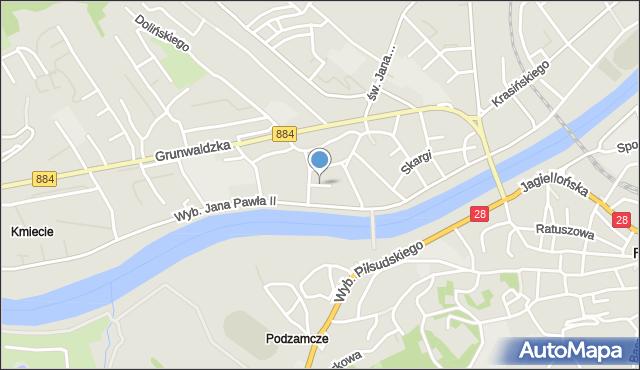 Przemyśl, Kremera Józefa, mapa Przemyśla