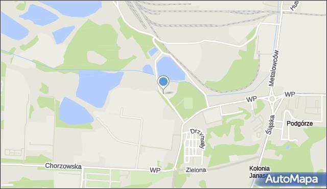 Świętochłowice, Krauzego Juliusza, mapa Świętochłowice