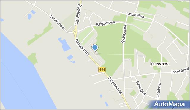 Toruń, Krajoznawcza, mapa Torunia