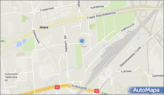 Toruń, Króla Bolesława Chrobrego, mapa Torunia