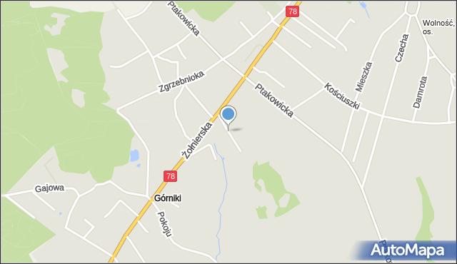 Bytom, Ku Duklom, mapa Bytomia