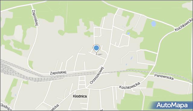 Ruda Śląska, Kuncewiczowej Marii, mapa Rudy Śląskiej