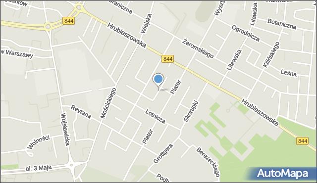 Chełm, Langiewicza Mariana, gen., mapa Chełma