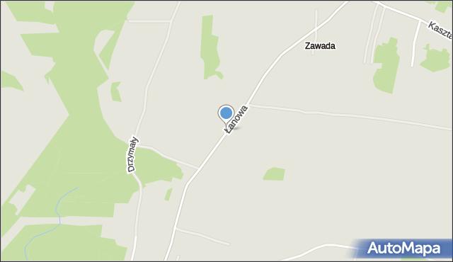 Jaworzno, Łanowa, mapa Jaworzno