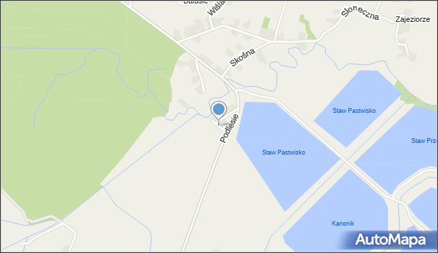 Przeciszów, Łąkowa, mapa Przeciszów