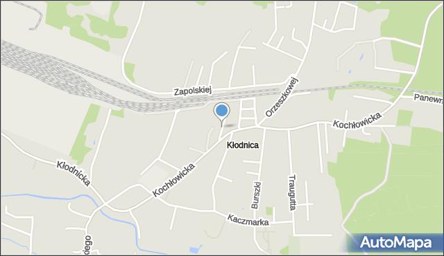 Ruda Śląska, Łanowa, mapa Rudy Śląskiej