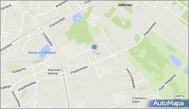 Gdańsk, Lecha, mapa Gdańska