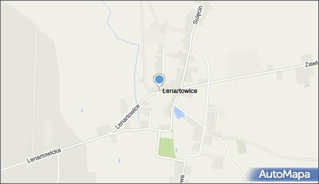 Lenartowice gmina Pleszew, Lenartowice, mapa Lenartowice gmina Pleszew