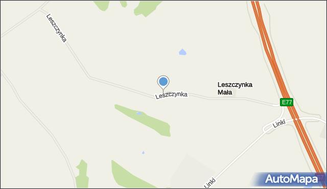 Leszczynka Mała, Leszczynka Mała, mapa Leszczynka Mała