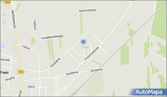 Lubaczów, Leszczyńskiego Zygmunta, dr., mapa Lubaczów