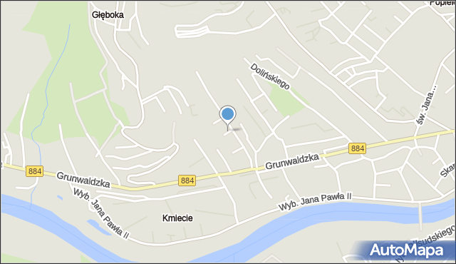 Przemyśl, Legnicka, mapa Przemyśla