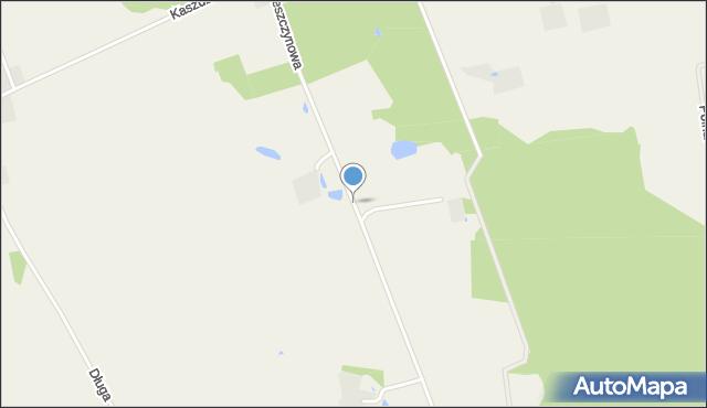 Tępcz, Leszczynowa, mapa Tępcz