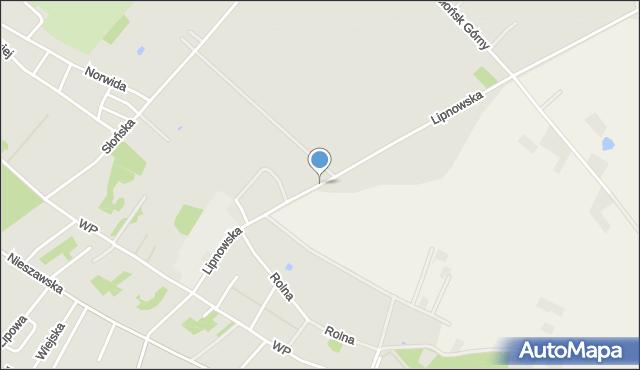 Ciechocinek, Lipnowska, mapa Ciechocinek