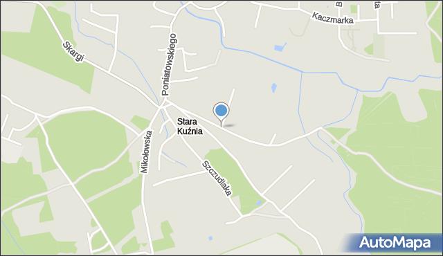 Ruda Śląska, Ligocka, mapa Rudy Śląskiej