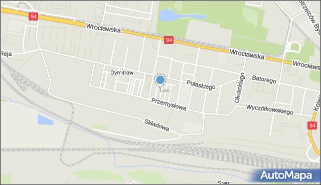 Bytom, Malczewskiego Jacka, mapa Bytomia