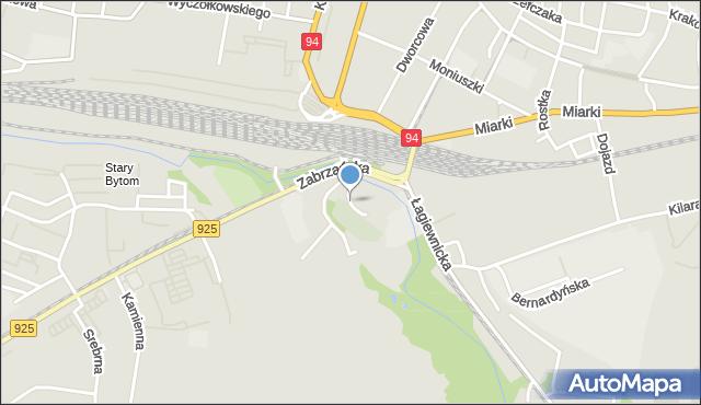 Bytom, Małgorzatki, mapa Bytomia