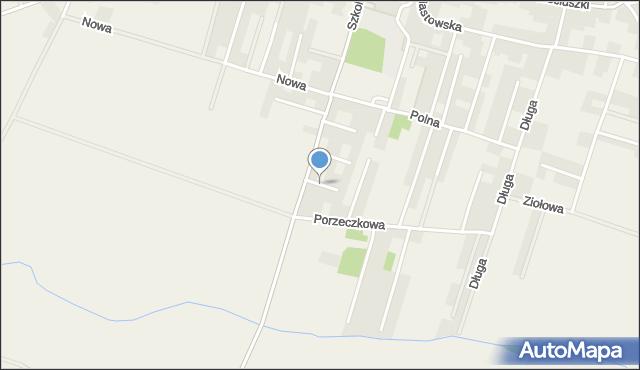 Lutynia gmina Miękinia, Magnoliowa, mapa Lutynia gmina Miękinia