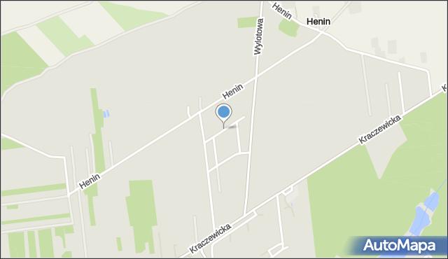 Poniatowa powiat opolski, Magnoliowa, mapa Poniatowa powiat opolski