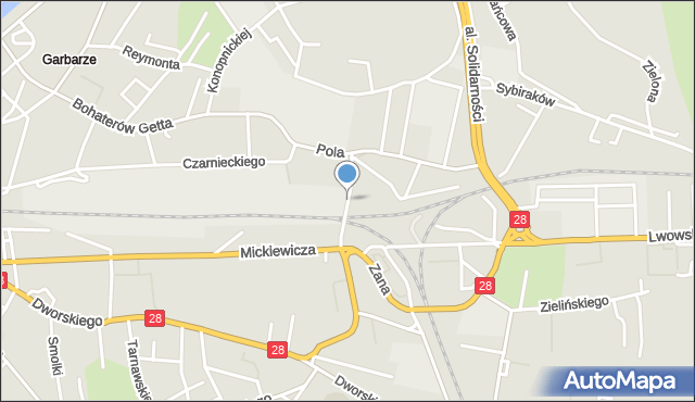 Przemyśl, Mariacka, mapa Przemyśla