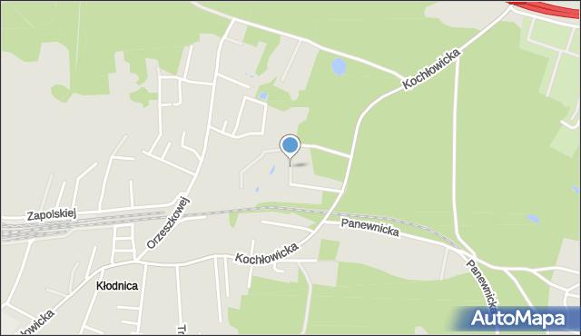 Ruda Śląska, Makowa, mapa Rudy Śląskiej