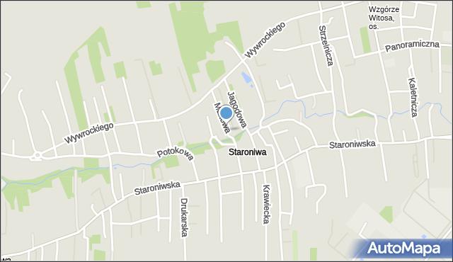 Rzeszów, Makowa, mapa Rzeszów