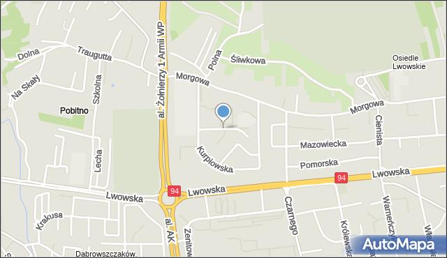 Rzeszów, Małopolska, mapa Rzeszów