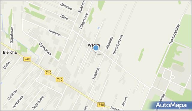 Wacyn, Marmurowa, mapa Wacyn