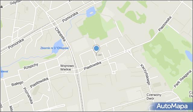 Gdańsk, Mieszka I, mapa Gdańska