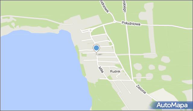 Grudziądz, Miła, mapa Grudziądza